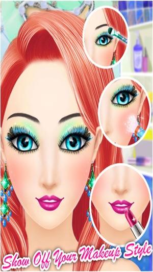 Hollywood Star Makeup - Spa Makeup Dress Up - Princess Girls Game ...