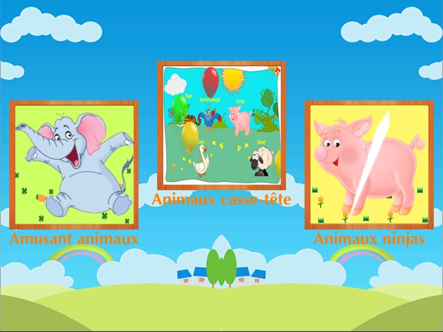 Learn French ABC letters and animals for kids and French children
