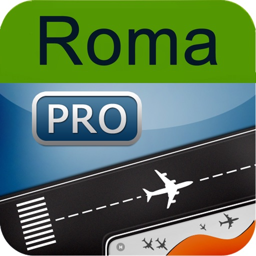Rome Fiumicino Airport + Flight Tracker Premium HD Roma FCO