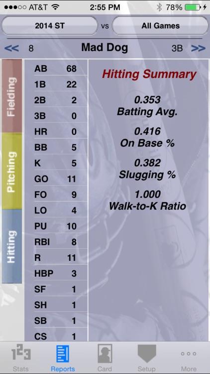 StatCatcher™ Baseball (Player Edition)