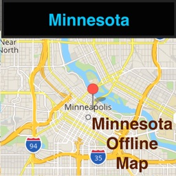 Minnesota/Minneapolis Offline Map & Navigation & POI & Travel Guide & Wikipedia with Traffic Cameras