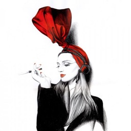Fashion Art Theme HD Wallpaper and Quotes