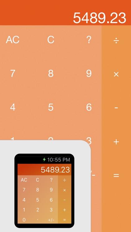 Kalku - Calculator for Apple Watch