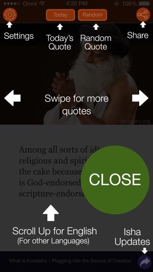 Mystic Quotes Sadhguru On The App Store