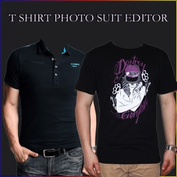 T Shirt Photo Suit Editor