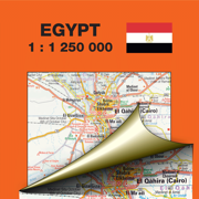 Египет. Туристическая и дорожная карта