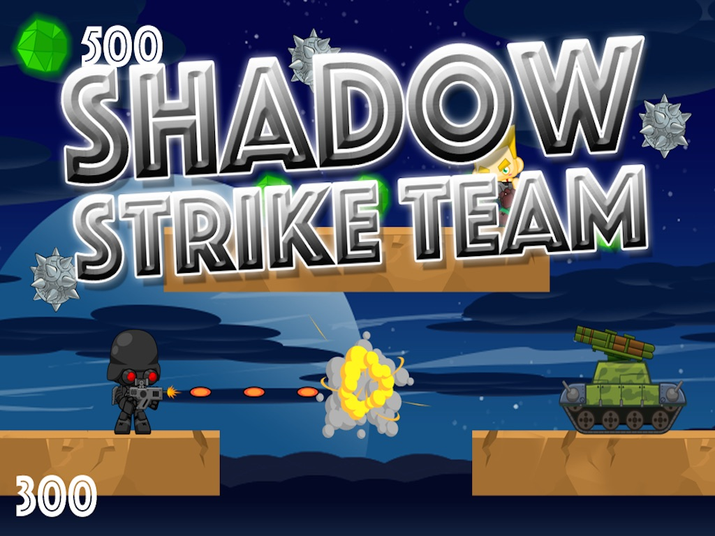 A Shadow Strike Team - Army of Tanks and Soldiers in a World