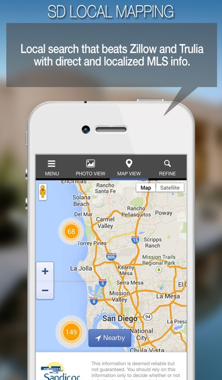 SD Homefinder Mobile