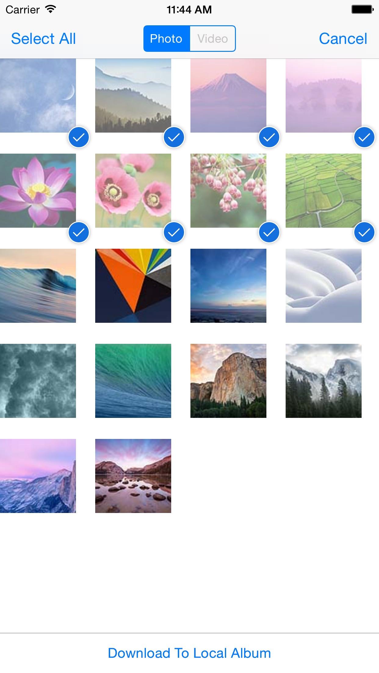 ez Share Wi-Fi SD Screenshot