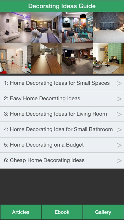 Decorating Ideas Guide - A Guide To Decorating Your Home !
