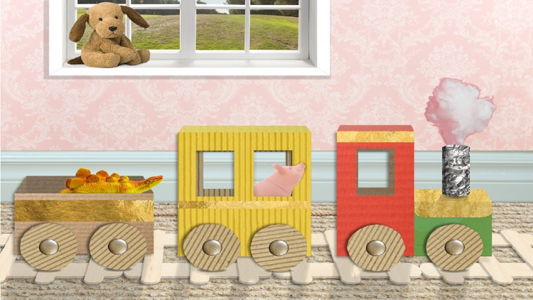Scribbaloo Train - art and craft train app for toddlers screenshot-0