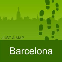 Barcelone : Carte Offline
