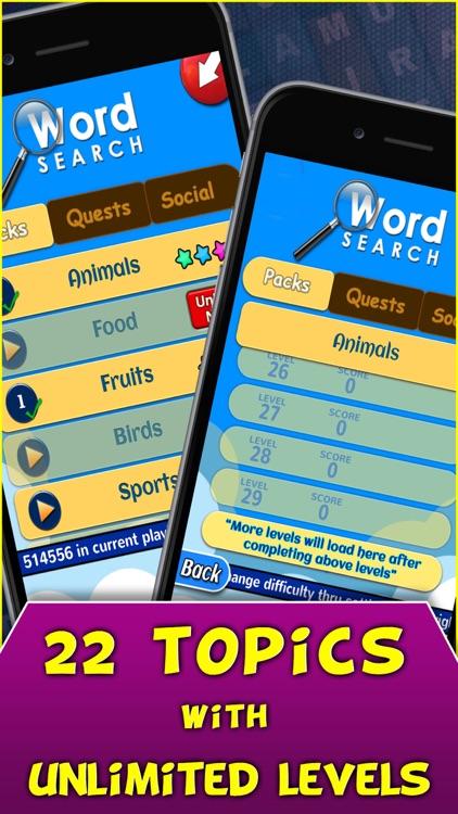 Words Search Free screenshot-3