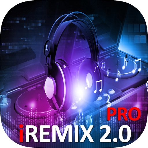 iRemix 2.0 Pro - Portable DJ Music Mixer Remix Tool icon