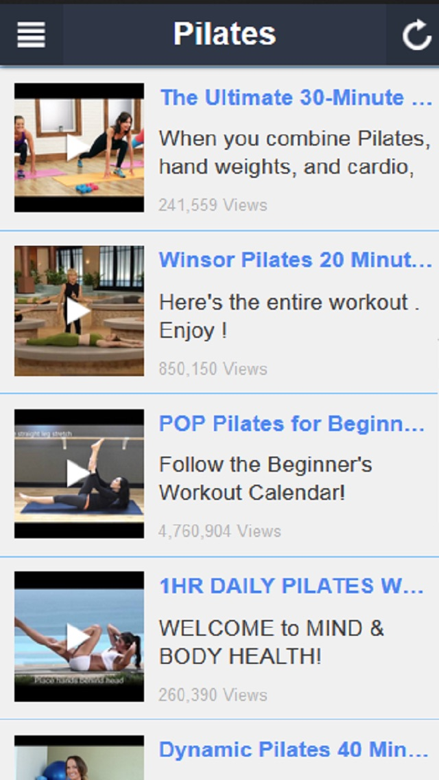 download Pilates Workout - Beginner Pilates and Core Stabililty Exercises apps 2