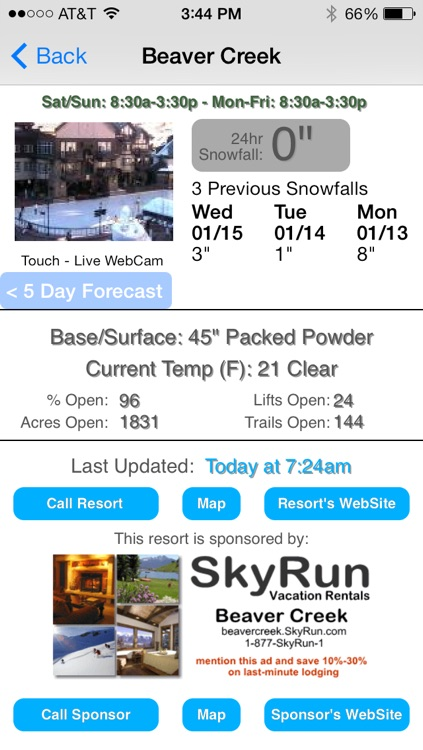 Colorado Snow Report screenshot-2