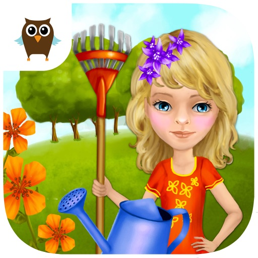 Dream Garden Care and Clean Up - Kids Game