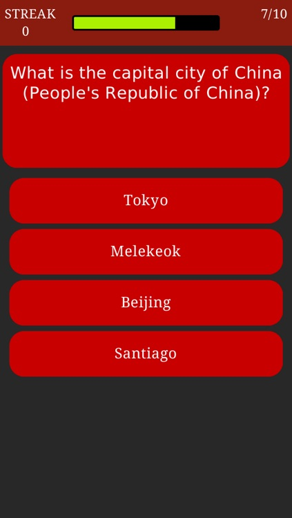 World Capitals Trivia - Geography Quiz about All Countries and Capital Cities screenshot-1