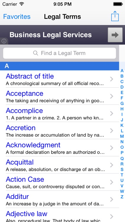 Legal Terms 1000 FREE: Legal Dictionary & Law Enforcement Guide Glossary