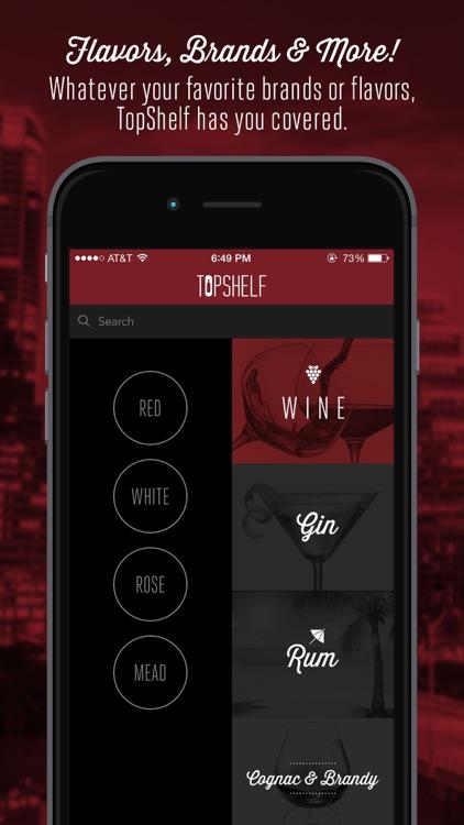 TopShelf Alcohol Delivery App