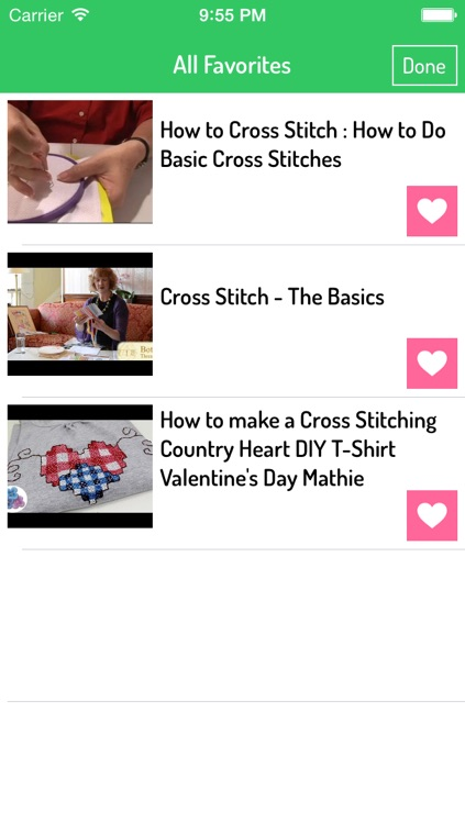 Cross Stitching Patterns screenshot-2