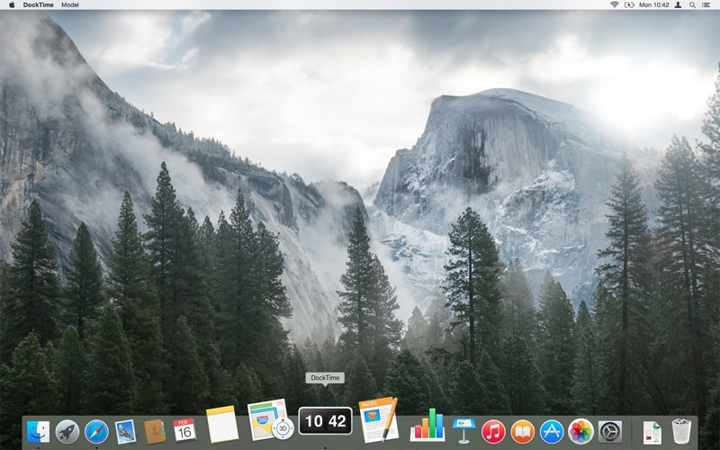 iClock Screenshot