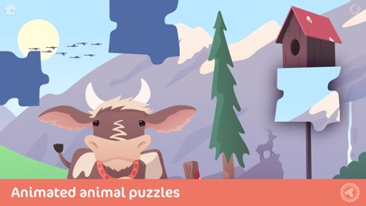 Toonia Puzzle - Animal Jigsaw Puzzle Game for Kids