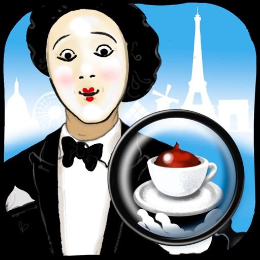 Париж - Шоколадница : Поиск скрытых предметов - Найти отличия - Пазлы