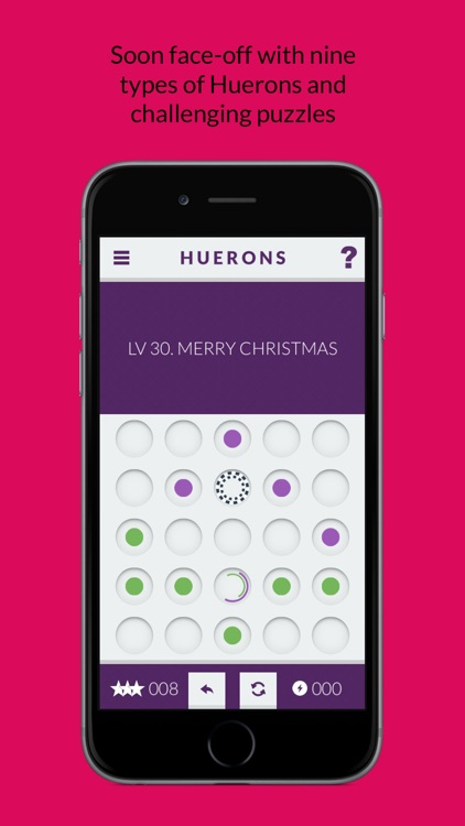 Huerons: A challenging Puzzle