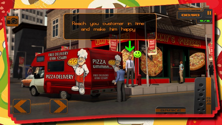 Pizza Delivery Simulator : Crazy City Food Free Transport Game