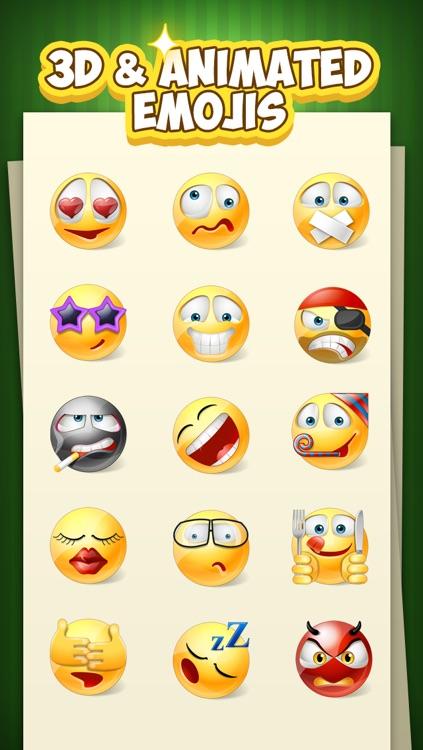 Emoji Keyboard for iOS8 - 3D Animated Emoticons Keyboard Free