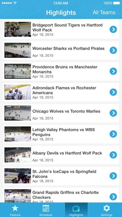 AHL Live screenshot-3
