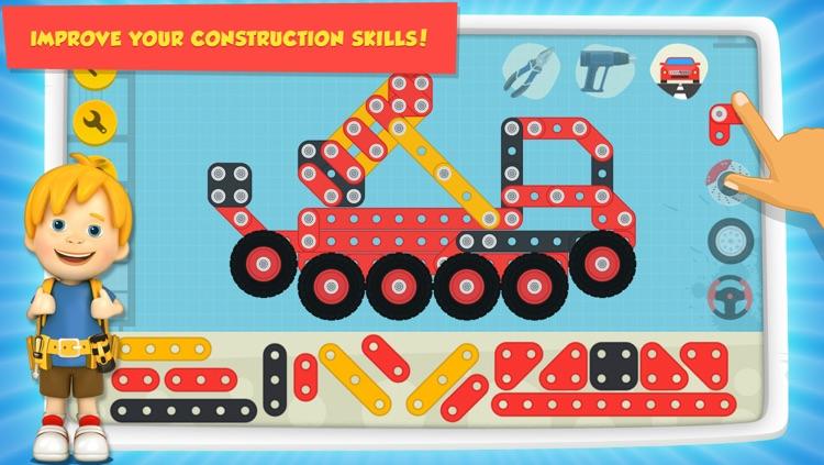 Car Maker Games: Fun Free Simulator Games for Kids Boys & Girls. Build, Make & Play Vehicles screenshot-4