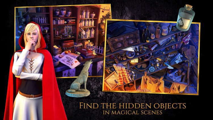 Red Riding Hood - Star-Crossed Lovers - A Hidden Object Adventure (FULL) screenshot-3