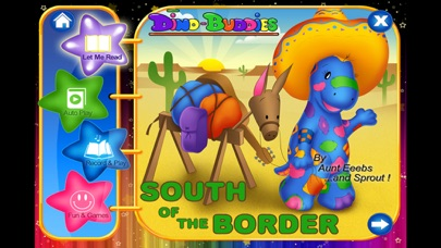 Dino-Buddies – South Of The Border Interactive eBook App