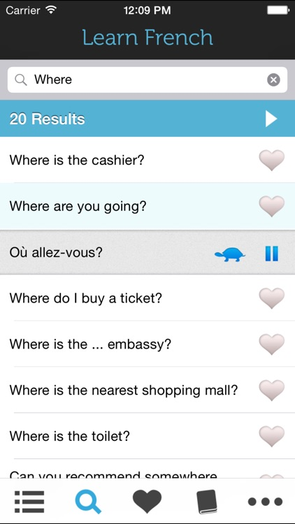 Learn French HD - Phrasebook for Travel in France screenshot-3