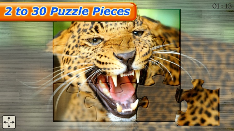 Amazing Wild Animals - Best Animal Picture Puzzle Games for kids screenshot-3