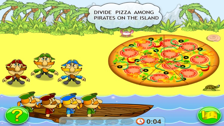 Fractions and Smart Pirates. Free