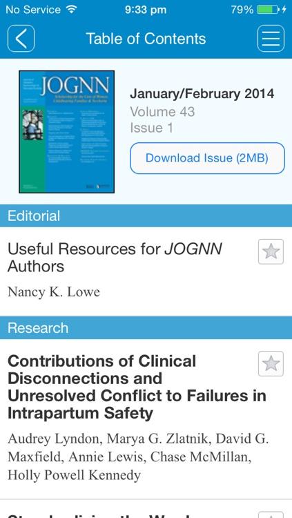 The Journal of Obstetric, Gynecologic & Neonatal Nursing