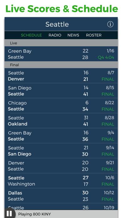 点击获取Seattle Football Radio & Live Scores