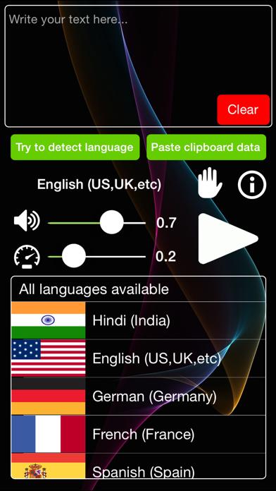 pronounce - lightweight pronunciation app screenshot one