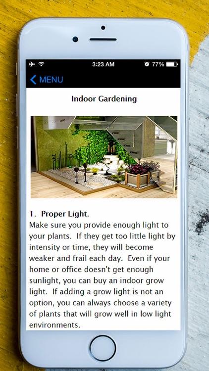 Easy Gardening Ideas - Vegetable, Flower, Organic Garden Planing Guide & Tips For Beginners screenshot-3