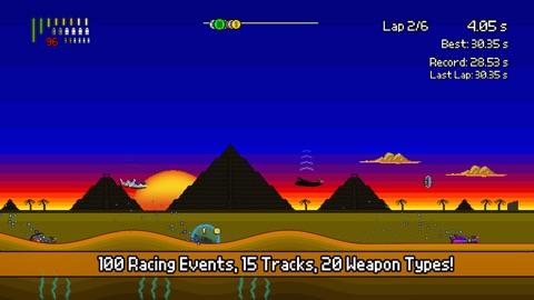 Screenshot #3 for Pixel Boat Rush TV