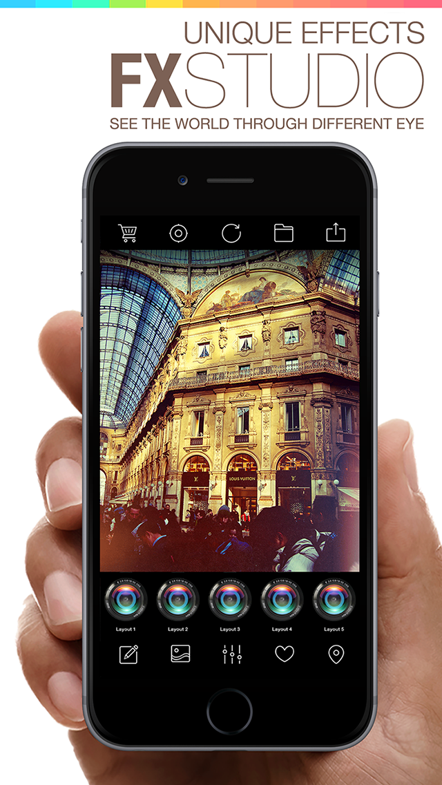 FX Studio 8 Plus - Photo Editor and Camera Filters Effects for iPhone & iPad screenshot three