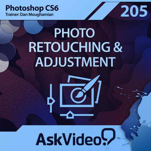 AV for Photoshop CS6 205 - Photo Retouching and Adjustment