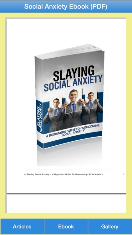 Social Anxiety Guide - A Guide To Overcome Social Anxiety Disorder