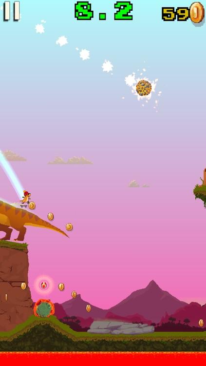 Dino Skater screenshot-3