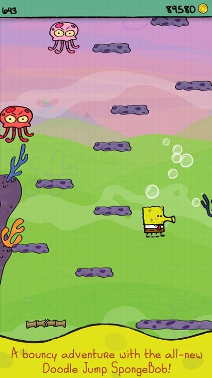 Doodle Jump SpongeBob SquarePants screenshot-3