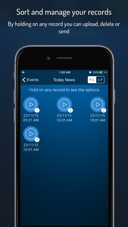 Q-Recorder Pro - Voice Recorder screenshot-4