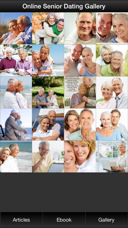 Online Senior Dating Guide - Learn How to Find Your Soulmate Now screenshot-1